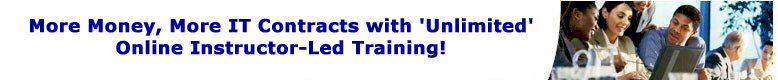 Unlimited Online Instructor-Led Training!